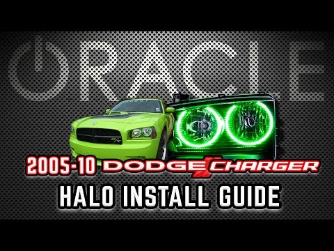 ORACLE 2005-10 DODGE CHARGER Halo Kit – D.I.Y. INSTALL GUIDE