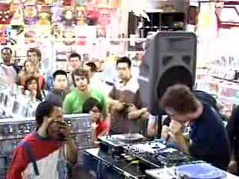 """Cut Chemist - Live In Store at Amoeba """"What's the Altitude"""""""