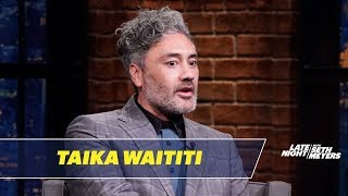 Taika Waititi Directed Jojo Rabbit While Dressed as Hitler
