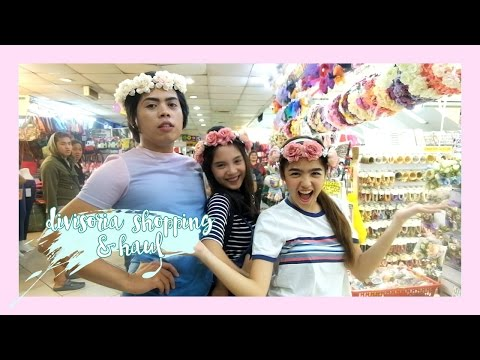 Divisoria Shopping and Haul! | Andrea B.
