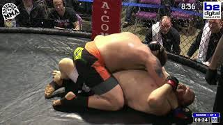 Hardrock MMA 97 Fight 5 Jesse Romans vs Jonathan Fugate Heavyweight Ammy