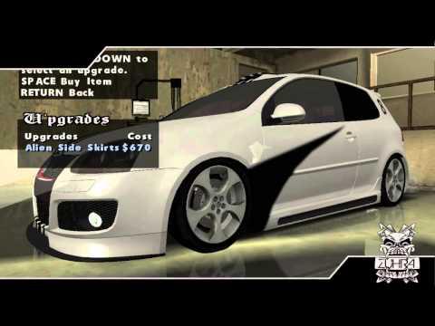 GTA San Andreas - Tunable Cars Pack Mod