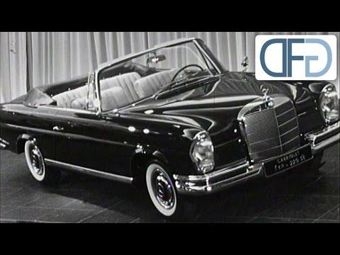 IAA 1961 - Die Neuheiten im Automobilbau vor 50 Jahren