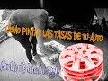 Como Pintar Tasas De Auto/martin Alvarado K4/argentina