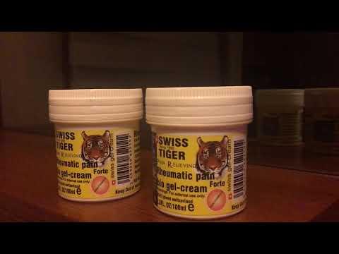 Switzerland bio gel cream swiss tiger
