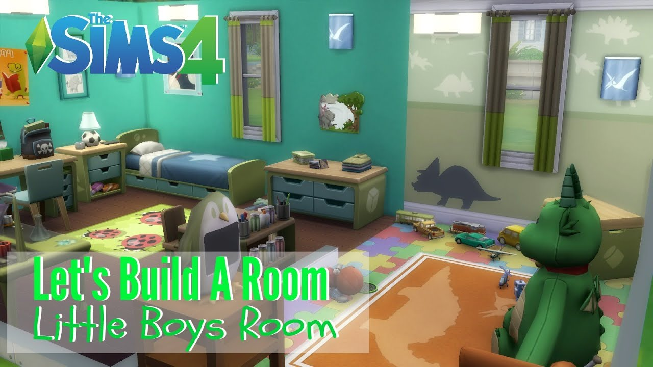 House Design Games Like Sims The Sims 4 Let S Build A Room Little Boys Room Youtube