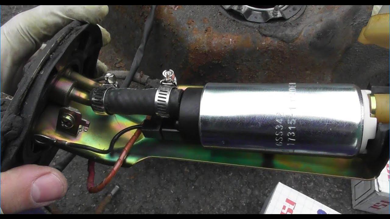 t2cg honda civic ef b18c4 part 26 fitting a walbro 255lph gss342 fuel pump [ 1280 x 720 Pixel ]