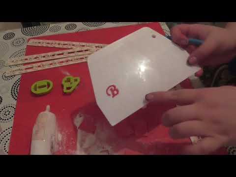 Как сделать буквы из мастики