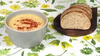 Полезный картофельный суп с пшенкой
