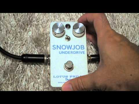 Snow Job Pedal  effect review by SoNg1508