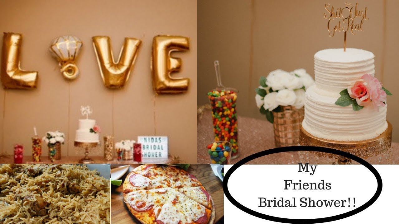 beef pulao cheese pizza and my friends bridal shower