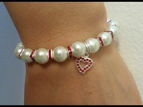 Handmade Jewelry: Beaded Basic Stringing Bracelet