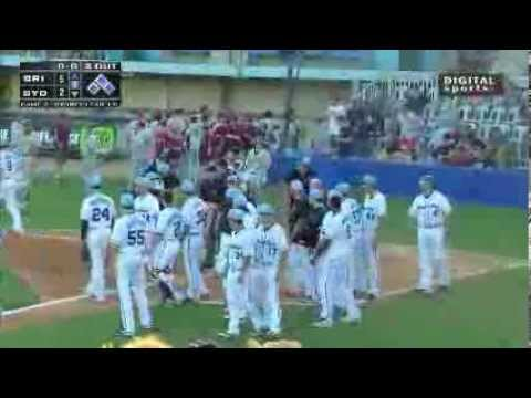 Baseball Fight - Brisbane Bandits vs Sydney Blue Sox - The Australian Baseball League
