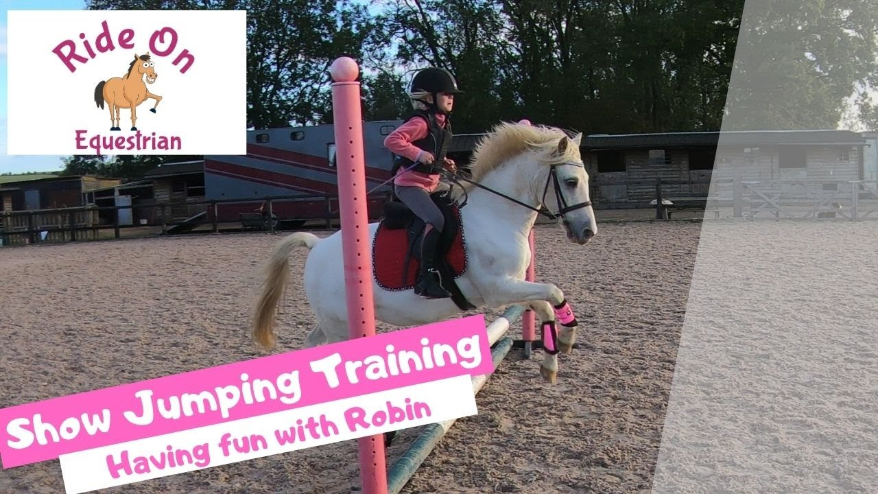 Showjumping Training with Ride on Equestrian