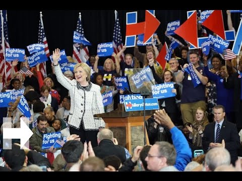 """We need more love and kindness"" Hillary Clinton victory speech in South Carolina 