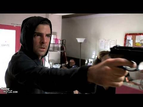 HOSTAGE: A Love Story with Zachary Quinto
