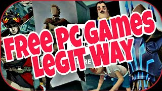 Download Free Games TOTALLY LEGAL!! | Explained In Hindi |