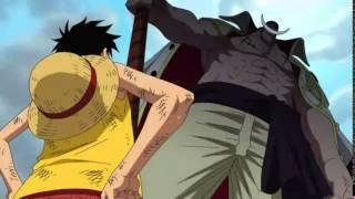 One Piece: Luffy gặp Râu Trắng ở Marineford (Vietsub)