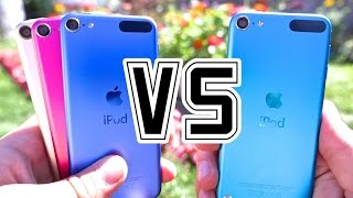 New iPod Touch 6th Generation VS 5th Generation - 6G VS 5G Camera, Speed Test, Specs, Battery Life & More! Is It Worth The Upgrade?