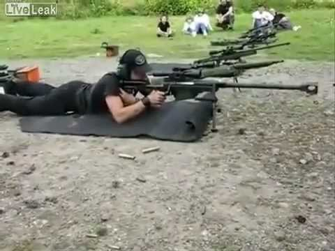 Fusil Antimaterial Hecate II cal 12,7mm (Francia)