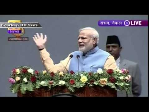 PM Narendra Modi addresses Nepal Parliament