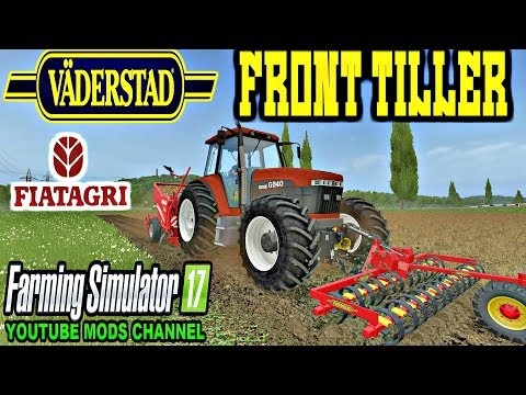Farming Simulator 17 Väderstad Front Tiller And Fiatagri G Series