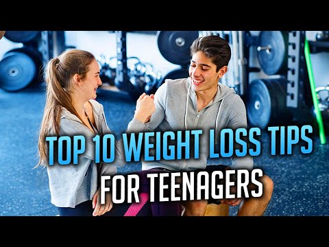 TOP 10 Tips How To Lose Weight as a Teenager