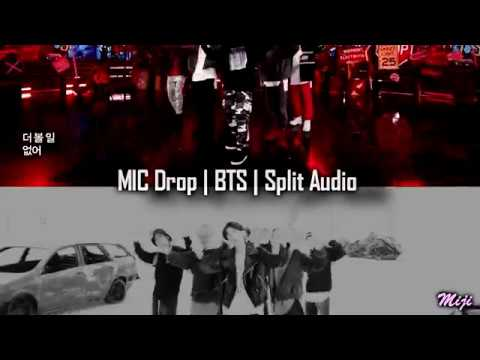 BTS (방탄소년단) MIC Drop | SPLIT HEADPHONES!