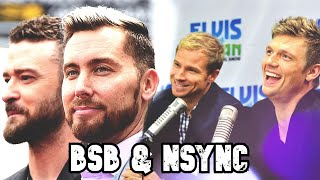 NSYNC & BSB talking to and about each other