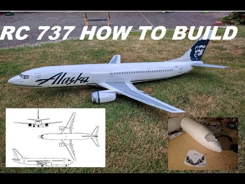 Depron 737-400 Boeing Build *HOW TO BUILD AN RC AIRLINER* from Scratch with Foam