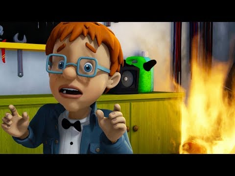 Fireman Sam US New Episodes | Spy Games -  Fighting Fire Mar