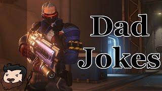 dad jokes overwatch soldier 76 daddy