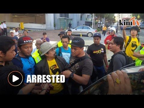 Activist Hishammuddin Rais arrested