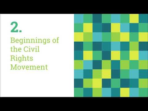 Civil Rights Era #1-Beginnings