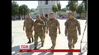 Добровольчий батальйон Київ-1 повернувся додому на часткову ротацію
