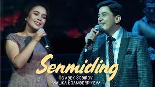 Og'abek Sobirov - Malika Egamberdiyeva - Senmiding | Огабек ва Малика - Сенмидинг (concert version)