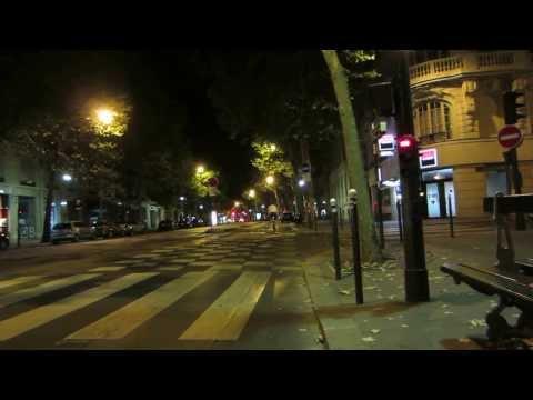 Cycling in Paris by Night: Boulevard Saint-Germain