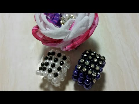 80) DIY || Tutorial Cara Membuat Ring Hijab || How To Make Scarf Ring (Model 2)