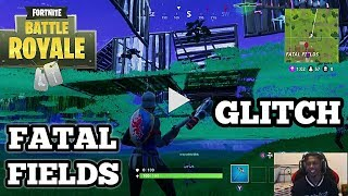 Fortnite: Battle Royale | **NEW SECRET UNDERGROUND GLITCH IN FATAL FIELDS**