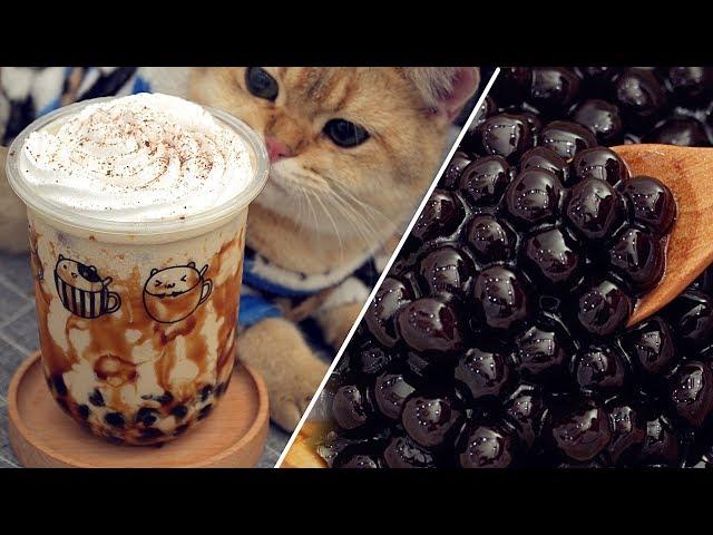 Tapioca Pearls & Bubble Tea [Recipe]