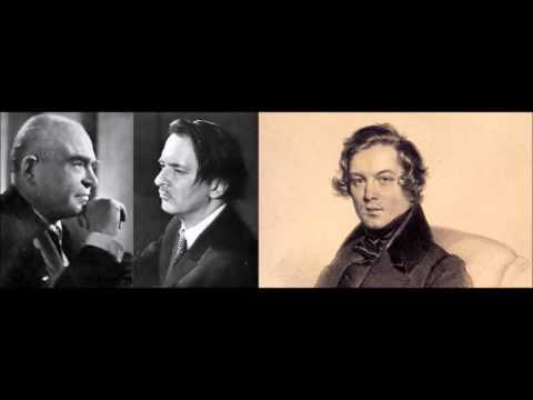 """Schumann """"Piano Concerto"""" Samson François"""