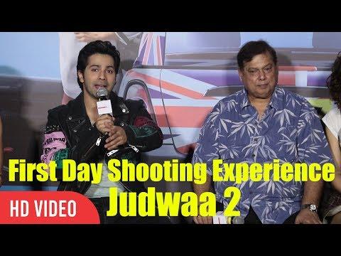 Judwaa 2 First Day Shooting Experience | Varun Dhawan | Judwaa 2 Official Trailer Launch