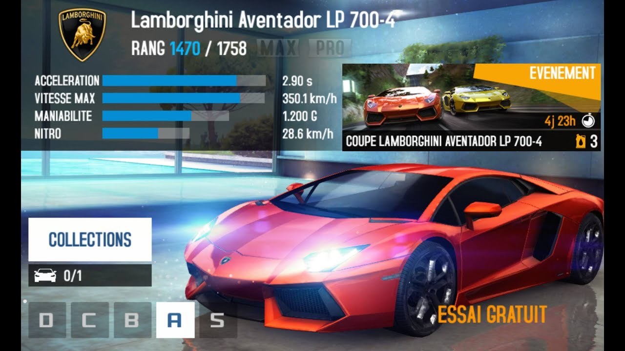 asphalt 8 lamborghini aventador cup mount teide youtube. Black Bedroom Furniture Sets. Home Design Ideas