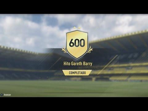 NUEVO DESAFIO DE CREACION DE PLANTILLAS CON CARTA ESPECIAL!!! - HITO GARETH BARRY - FIFA 17