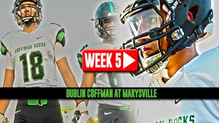 HS Football: Dublin Coffman at Marysville [9/26/14]