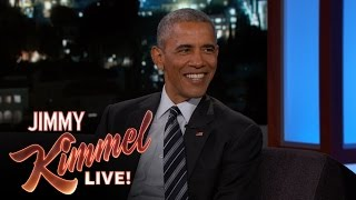 President Obama Laughs at Trump