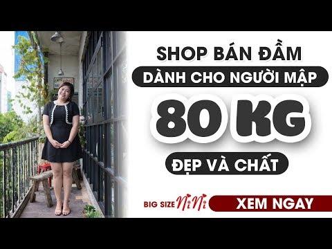 Shop Bán đầm Dành Cho Người Mập 80kg Đẹp Và Chất