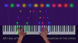 Phantom of the Opera - All I Ask of You