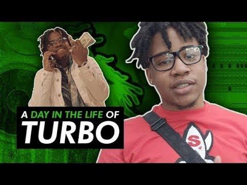 Turbo Wakes up Making Beats & Goes to The Studio w Gunna In Da Cut