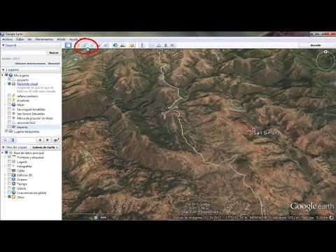 Obtener curvas de nivel de Google Earth en Autocad